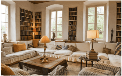 A writer's reading room