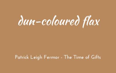 Dun-coloured flax