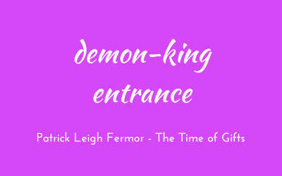 Demon-king entrance