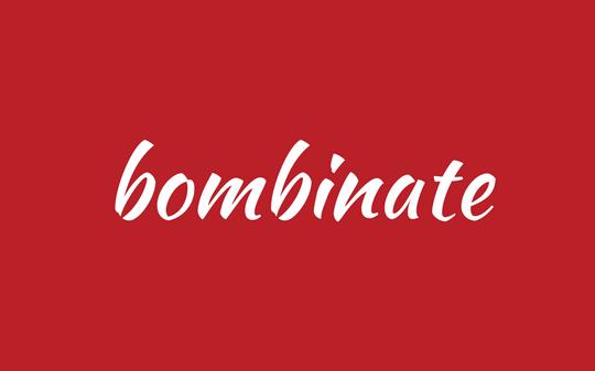 word - bombinate