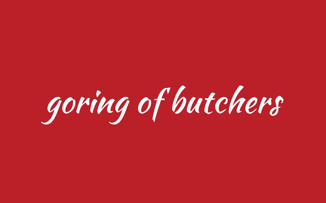 Collective noun - butchers