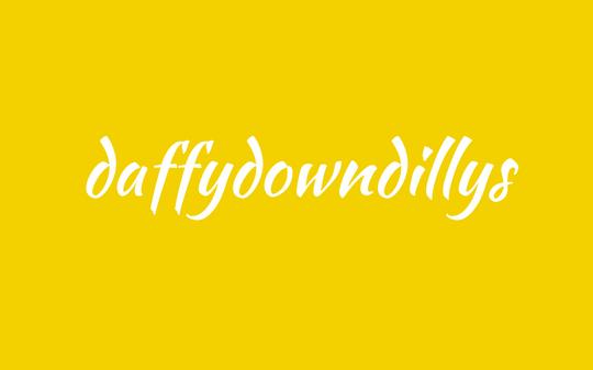word - daffydowndilly - daffodil