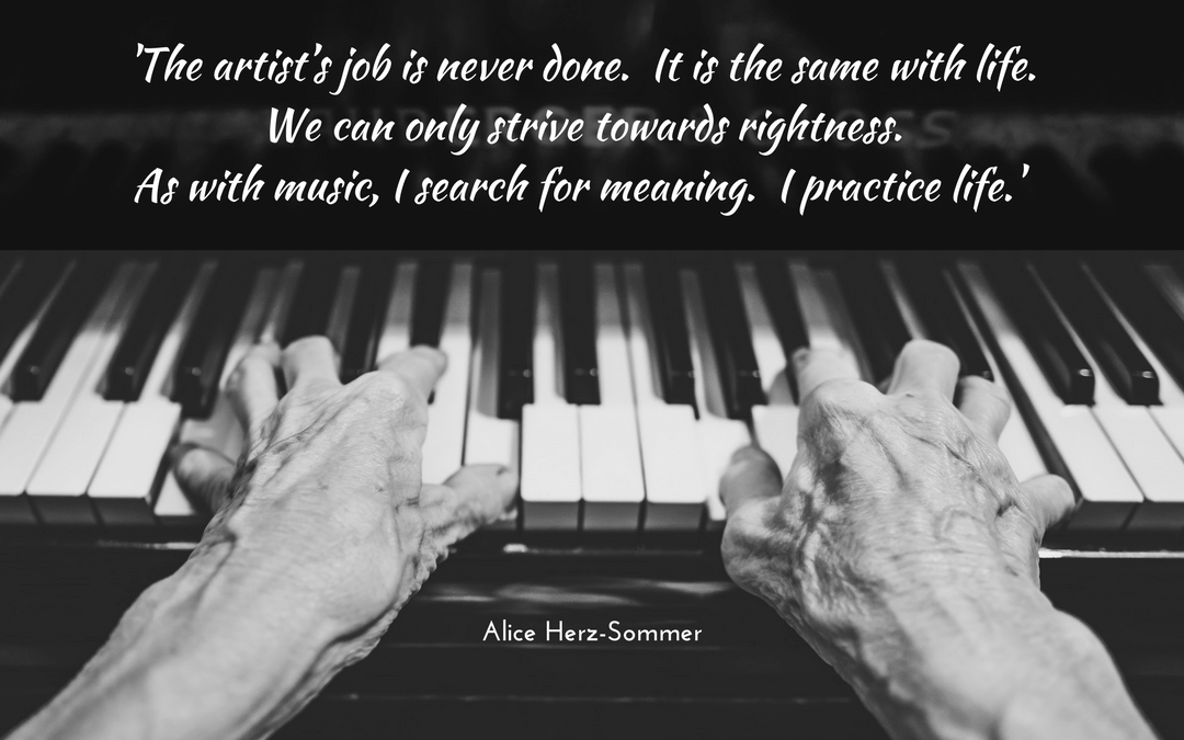Alice Herz-Sommer on life and music