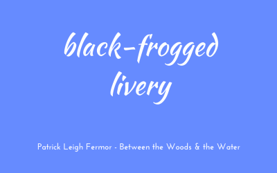 Black-frogged livery