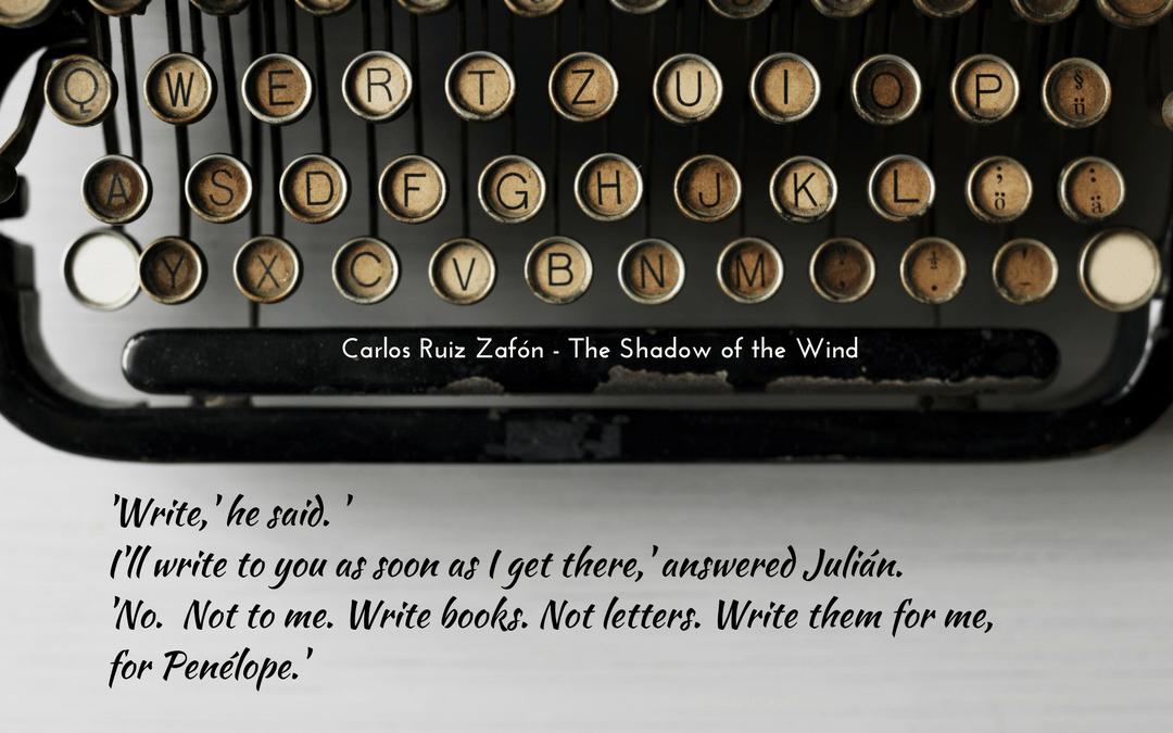Carlos Ruiz Zafón, The Shadow of the Wind