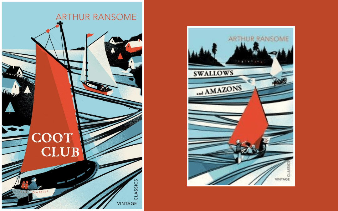 Book cover - Ransome - Coot Club - Swallows and Amazons