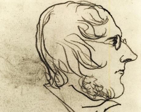 Portrait of Patrick Bramwell Bronte - credit Bronte Parsonage Museum