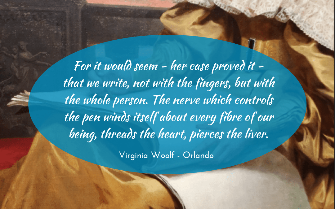 Virginia Woolf - Orlando - quotation