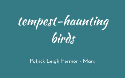 Tempest-haunting birds
