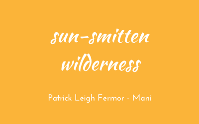Sun-smitten wilderness