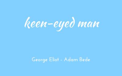 Keen-eyed man