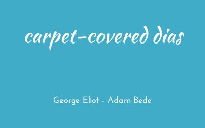 Carpet-covered dias