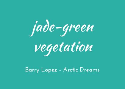 Barry Lopez - Arctic Dreams - triologism