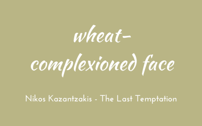 Wheat-complexioned face