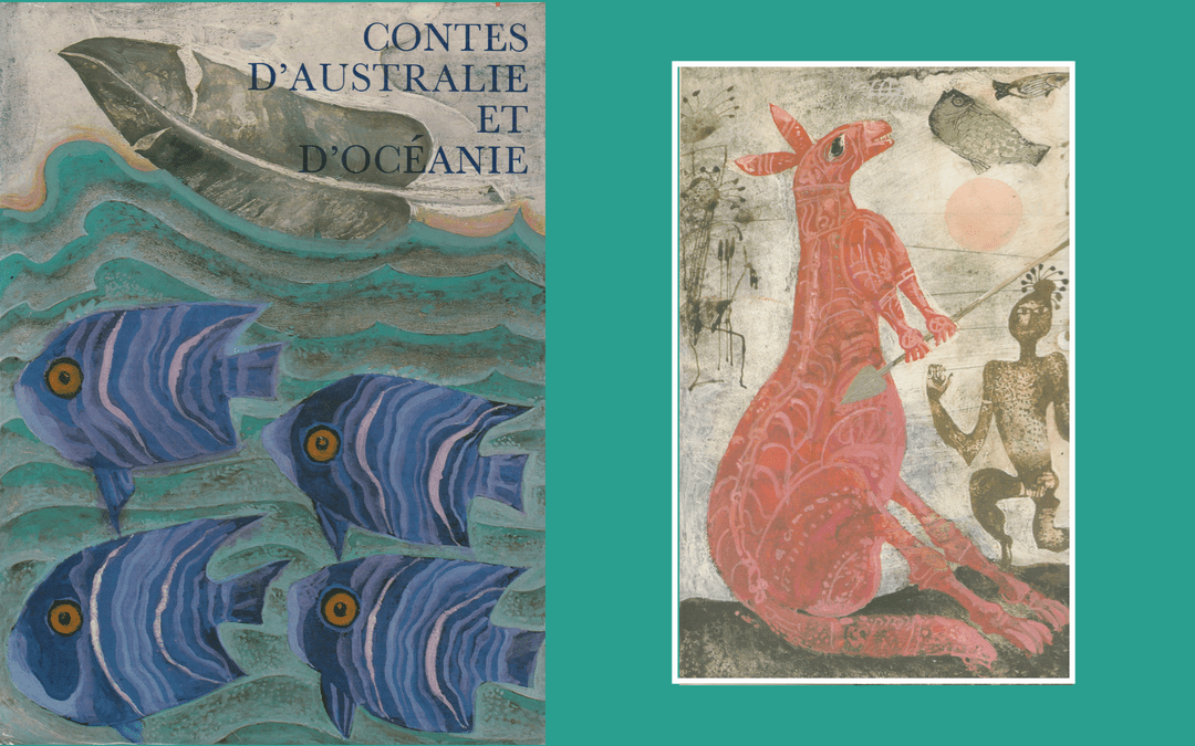 Book cover & illustration - Contes d'Australie et Oceanie