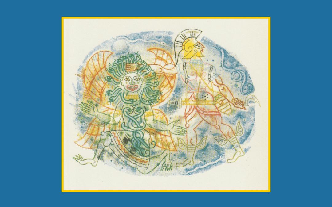 Book illustration and design - Greek Myths and Legends
