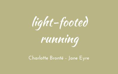 Light-footed running