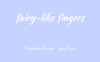 Fairy-like fingers