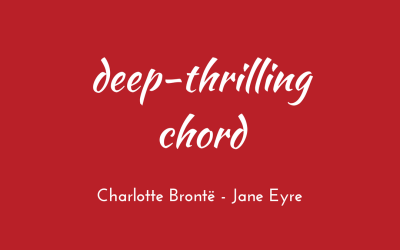 Deep-thrilling chord