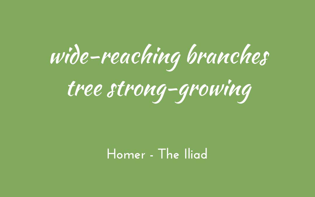 Homer - Iliad - triologism
