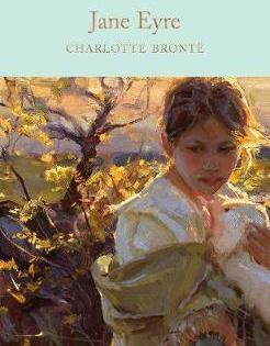 Book cover: Charlotte Bronte, Jane Eyre (Macmillan)