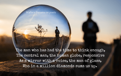 A poet's eye view of the poet