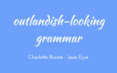 Outlandish-looking grammar