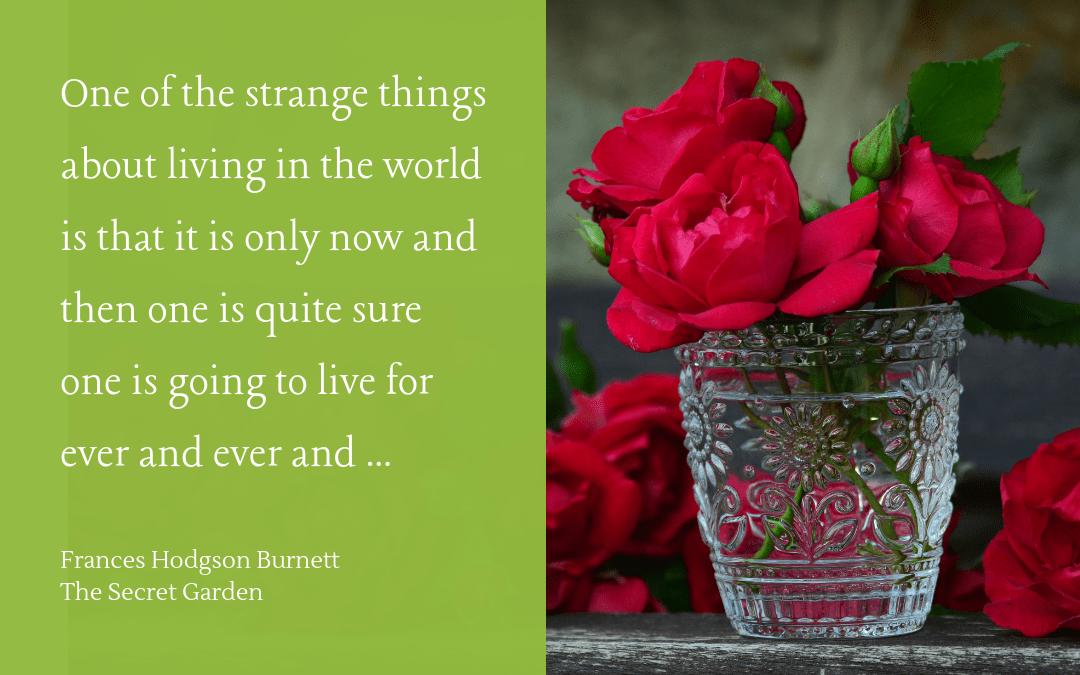 Quotation - Hodgson Burnett - Secret Garden