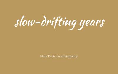 Slow-drifting years