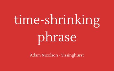 Time-shrinking phrase