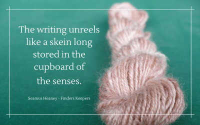 Unreel writing