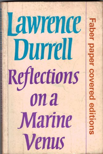 Cover - Lawrence Durrell - Reflections on a Marine Venus - Faber and Faber