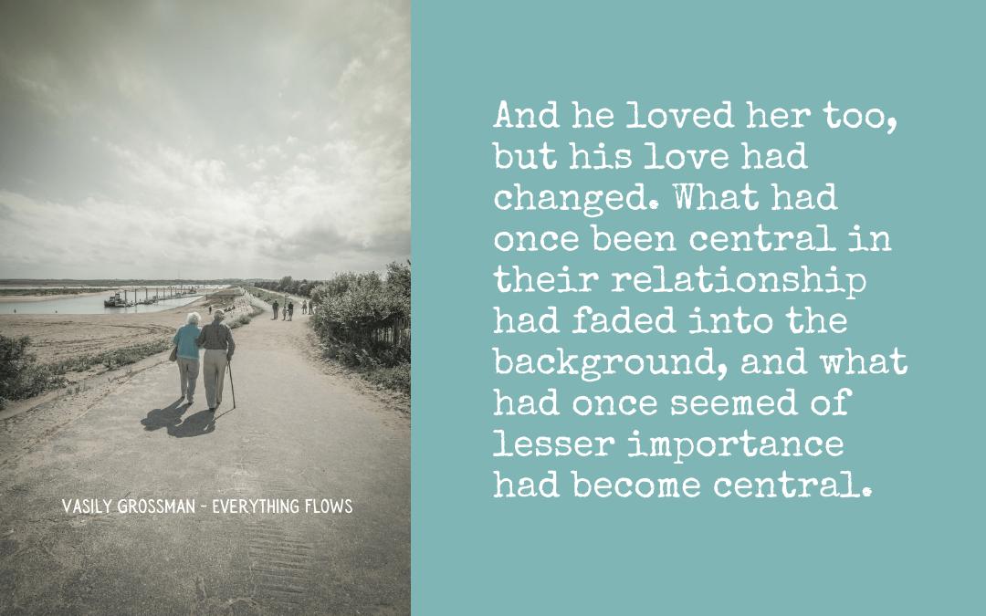 Lasting love, changing love