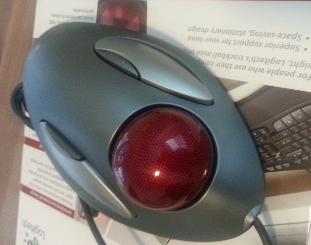 Logitech TrackMan Marble Mouse