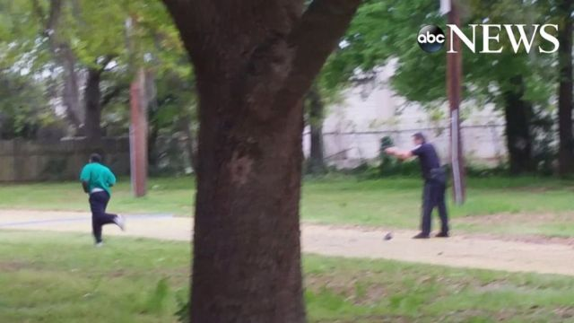 Video Cited By Police in Murder Charges Shows Officer Shooting Driver (ABC News)