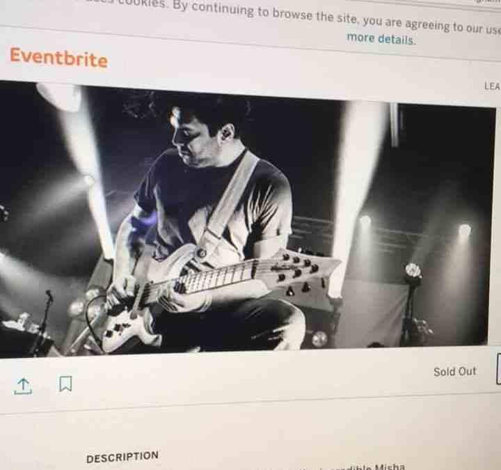 Misha Mansoor clinic at GuitarGuitar Birmingham