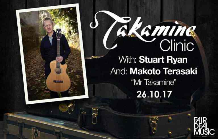 Takamine Clinic At Fairdeal Music Birmingham