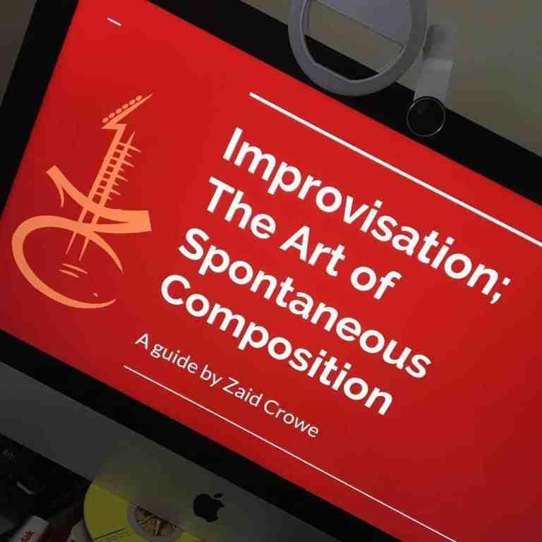 Group Jam/Improvisation Classes Launched!