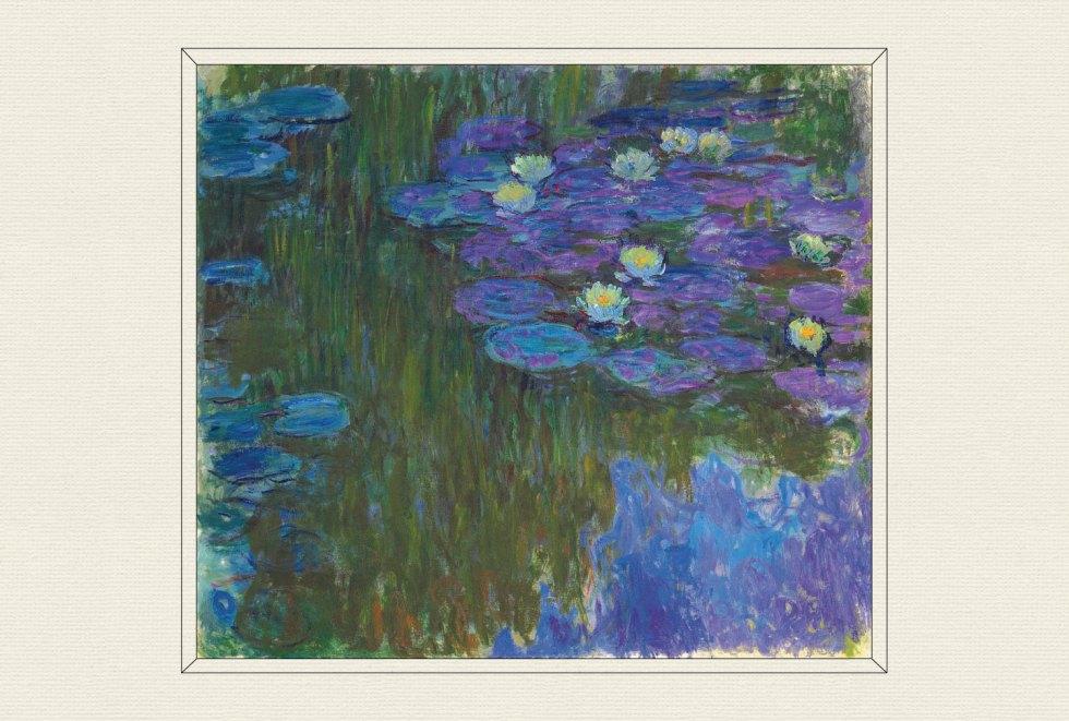 Nymphéas en fleur, 1914–17, by Claude Monet