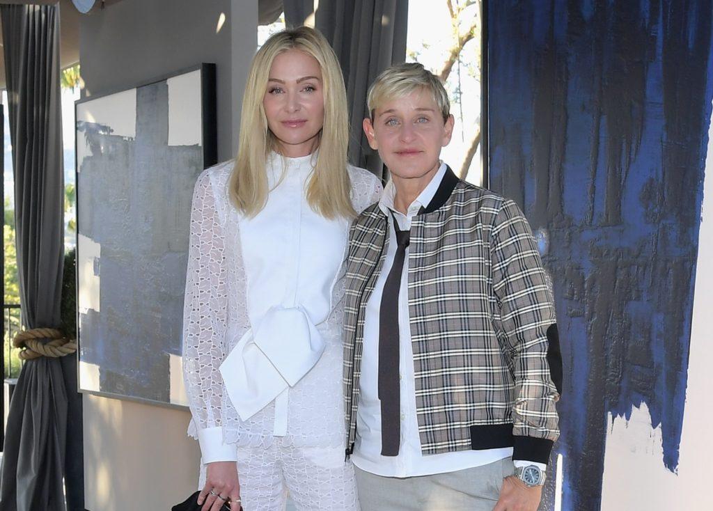 Portia De Rossi Thinks Ellen DeGeneres Should End Her