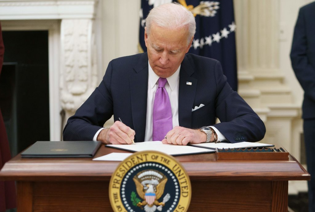 Joe Biden ends Donald Trump's ban on trans people in the US military