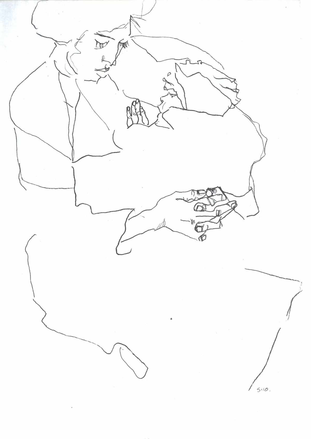 Start With Blind Contour If You Want Better Drawings
