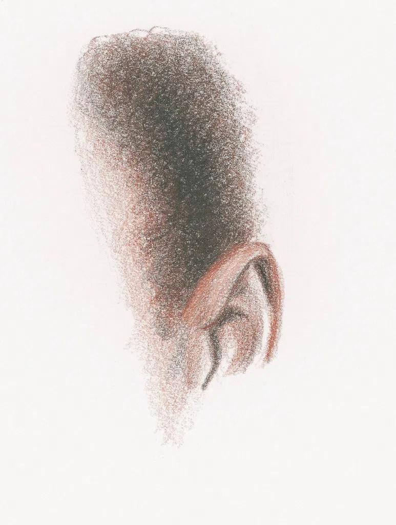 Demonstração do cabelo curto e encaracolado, etapa 3 | Lee Hammond | Desenho de cabelo para iniciantes em grafite e lápis de cor | Rede de Artistas
