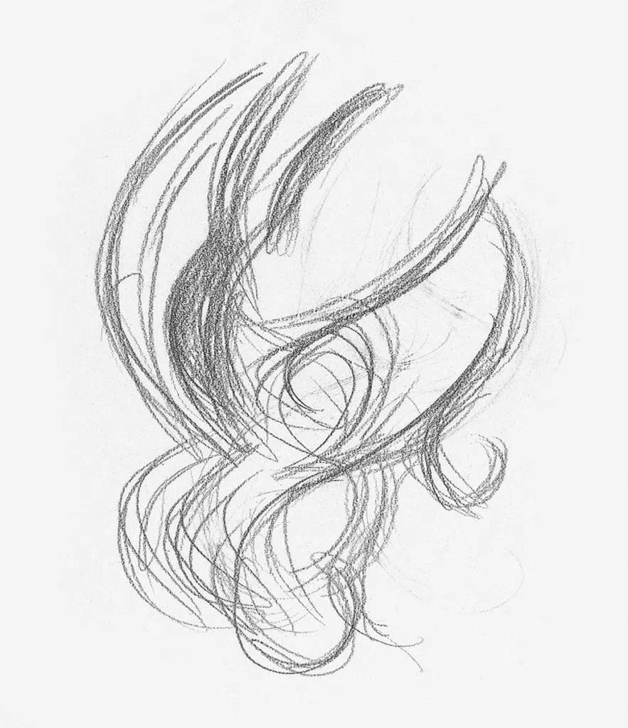 Demonstração de cabelos cacheados, etapa 1 | Lee Hammond | Desenho de cabelo para iniciantes em grafite e lápis de cor | Rede de Artistas