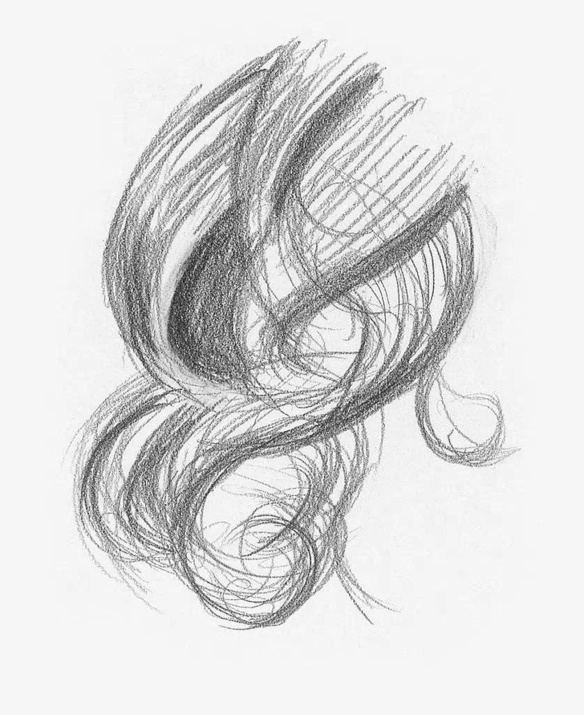 Demonstração de cabelos cacheados, etapa 2 | Lee Hammond | Desenho de cabelo para iniciantes em grafite e lápis de cor | Rede de Artistas