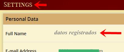 Verificar grandbux datos