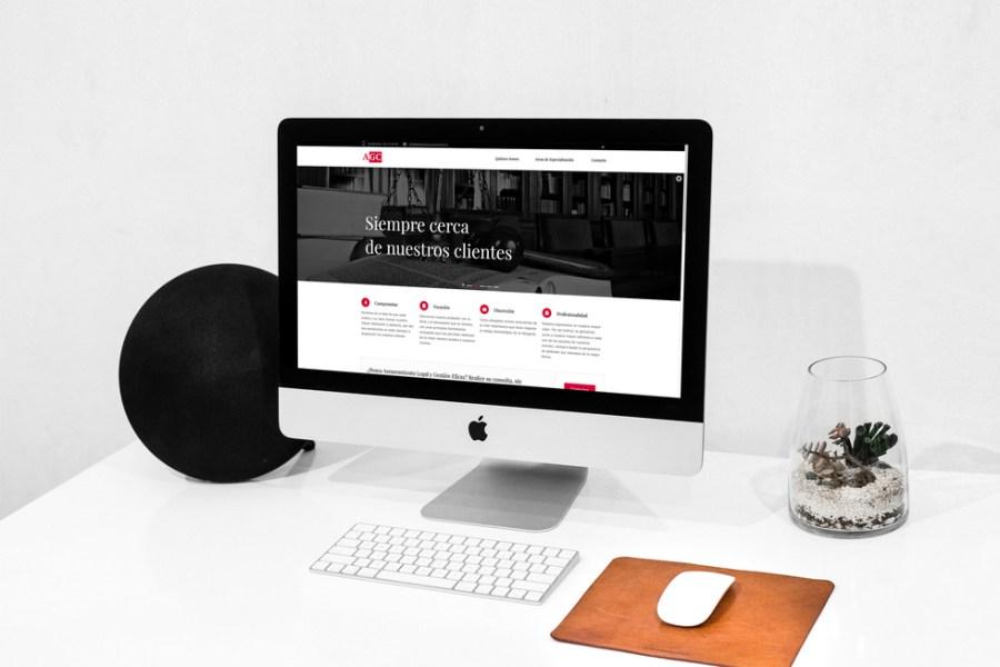 Diseño web empresa de abogacia