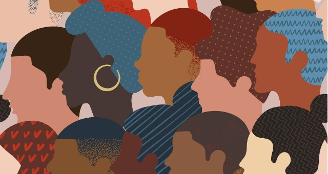 Individuals of all ethnicities and backgrounds show profile