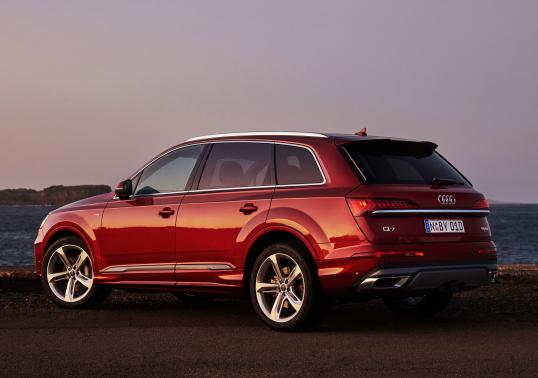 Audi Q7 - luksus nawet dla naszych pupili