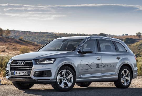 Audi Q7 e-tron TDI quattro [Worldwide] (4M) '2016–19